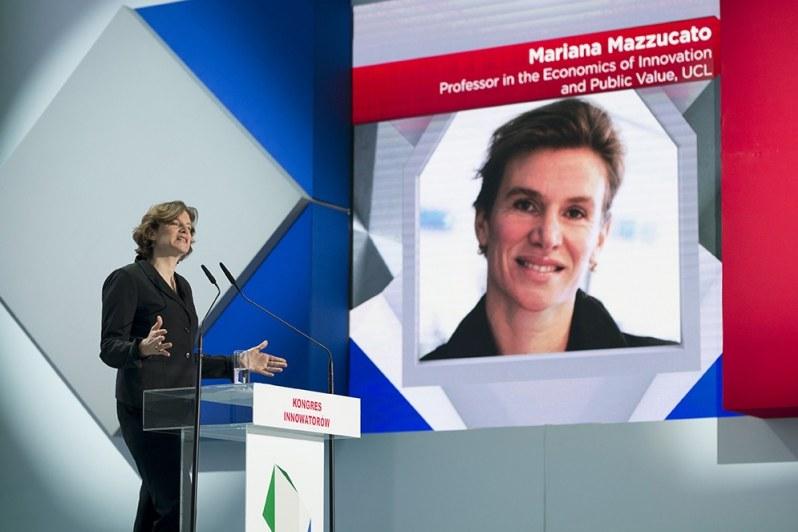 Mariana Mazzucato, profesor ekonomii innowacji i wartości publicznych / Fot. P. Tracz / KPRM /&nbsp