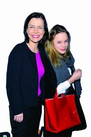 Marianna, 16-letnia córka Agaty Kuleszy jest fanką teatru. Czy chce w nim też występować? /AKPA POLSKA PRESS Sp.z o.o.