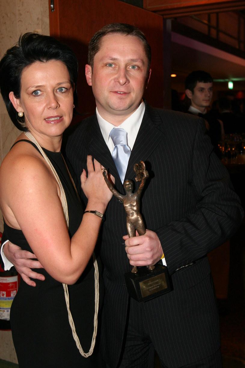 Marianna Dufek i Kamil Durczok (2003 r.) /MWMedia