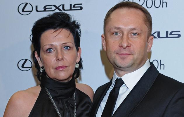 Marianna i Kamil Durczokowie jeszcze razem /Andras Szilagyi /MWMedia