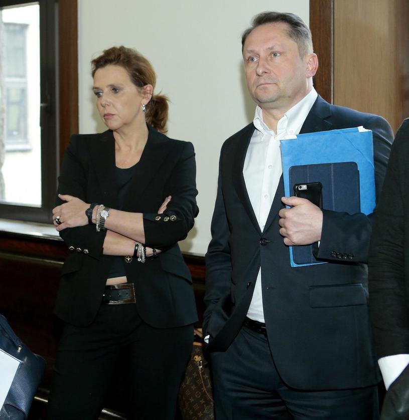 Marianna i Kamil znów spotkają się w sądzie! /Jankowski /Reporter