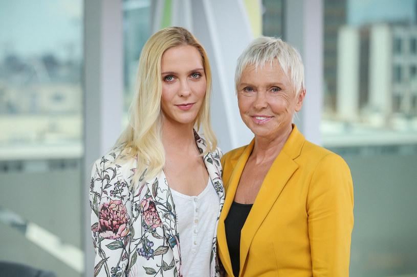 Marianna Janczarska i Ewa Błaszczyk. Matka i córka na wspólnym zdjęciu /Kamil Piklikiewicz /East News