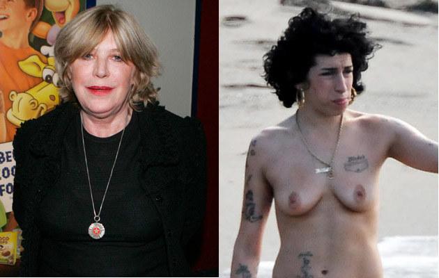 Marianne Faithful, Amy Winehouse  /Splashnews