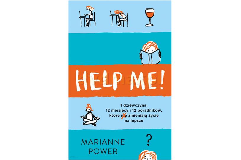 """Marianne Power, """"Help me!"""" /materiały prasowe"""