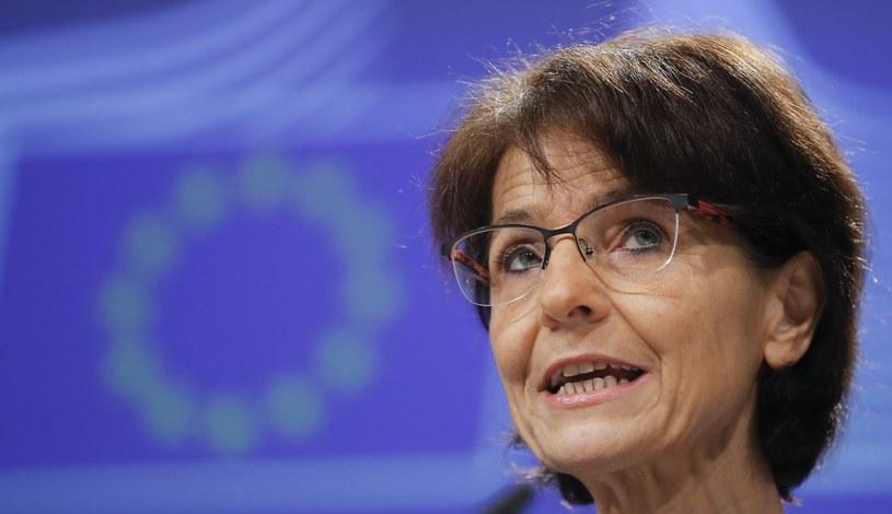 Marianne Thyssen, komisarz unijna ds. zatrudnienia /PAP/EPA