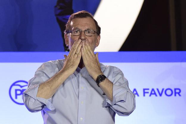 """Mariano Rajoy """"jest ogromnie dumny"""" z Partii Ludowej (PP) /AFP"""