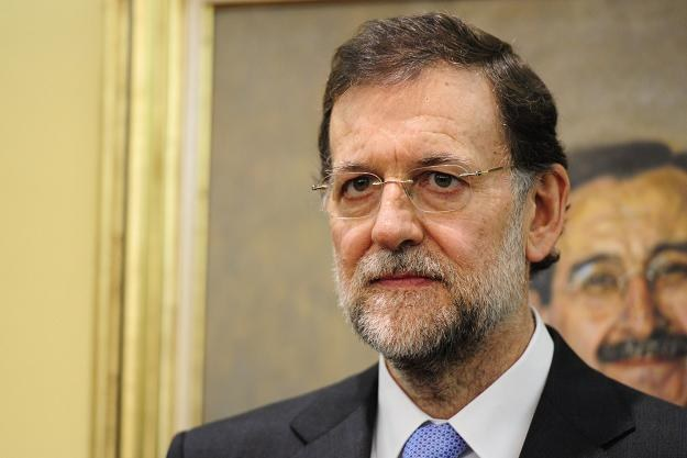 Mariano Rajoy, premier Hiszpanii /AFP