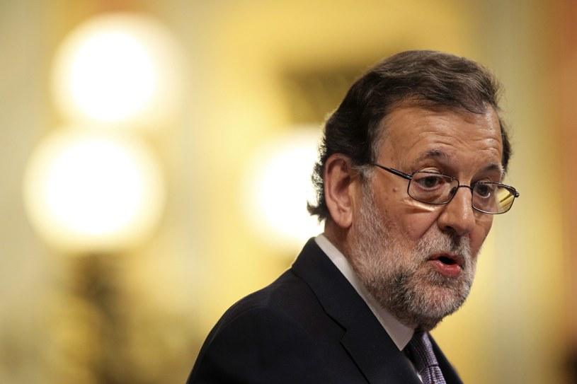 Mariano Rajoy /MARISCAL /PAP/EPA