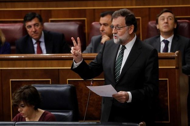 Mariano Rajoy /JUAN CARLOS HIDALGO    /PAP/EPA