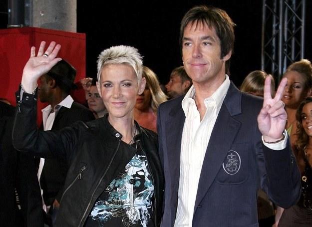 Marie Fredriksson i Per Gessle (Roxette) wrócili na scenę (zdjęcie z 2006 roku) - fot. Andreas Rentz /Getty Images/Flash Press Media