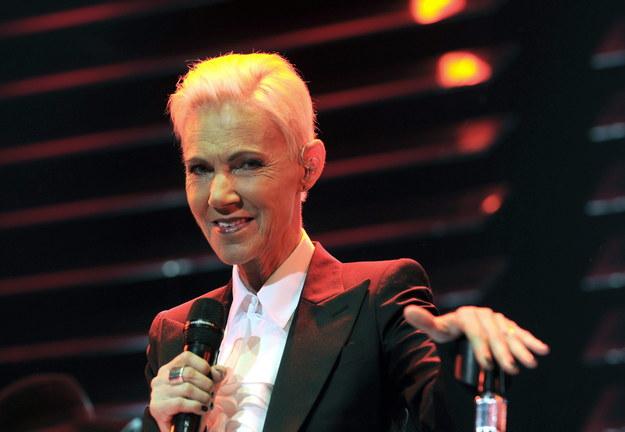 Marie Fredriksson podczas koncertu w Wiedniu w 2015 roku / HERBERT PFARRHOFER /PAP/EPA