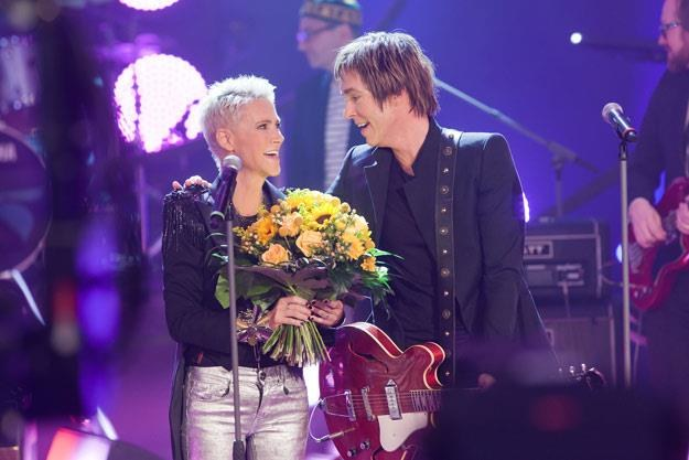Marie i Per, czyli duet Roxette (fot. Marco Prosch) /Getty Images