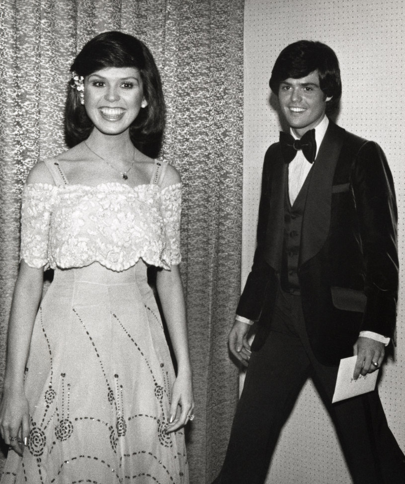 Marie Osmond i Donny Osmond w 1977 r. / Ron Galella/Ron Galella Collection  /Getty Images