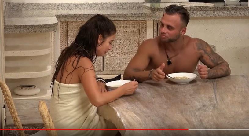 """Marietta i Chris w programie """"Hotel Paradise"""" /TVN7 /materiał zewnętrzny"""