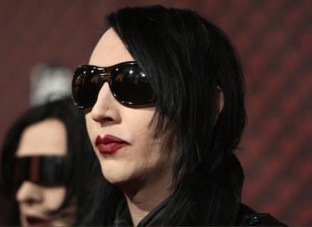 "Marilyn Manson nie występował w ""Cudownych latach"" /Getty Images/Flash Press Media"
