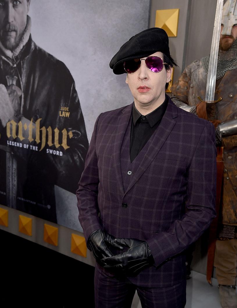 Marilyn Manson - zdj. z maja tego roku /Kevin Winter /Getty Images