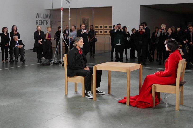 Marina Abramović i Ulay w MoMA / WILL RAGOZZINO/Patrick McMullan via Getty Images /Getty Images