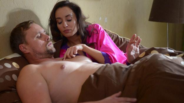 Marina (Agata Nizińska) i Stefan (Piotr Nowak) /Agencja W. Impact