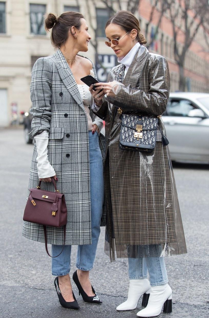 Marina i Sara Boruc na Tygodniu Mody w Mediolanie /Cornel Cristian Petrus/REX/Shutterstock /East News