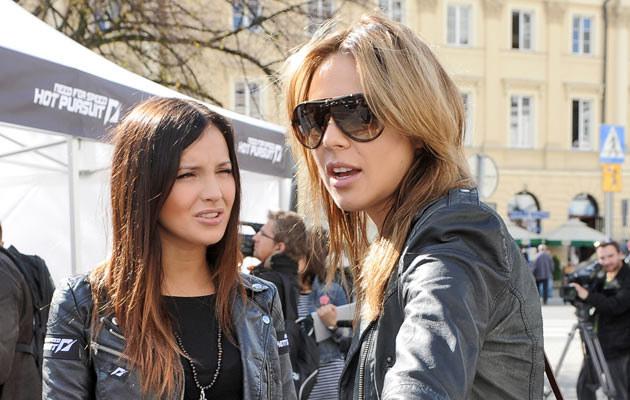 Marina Łuczenko i Maja Sablewska, fot. Andras Szilagyi  /MWMedia