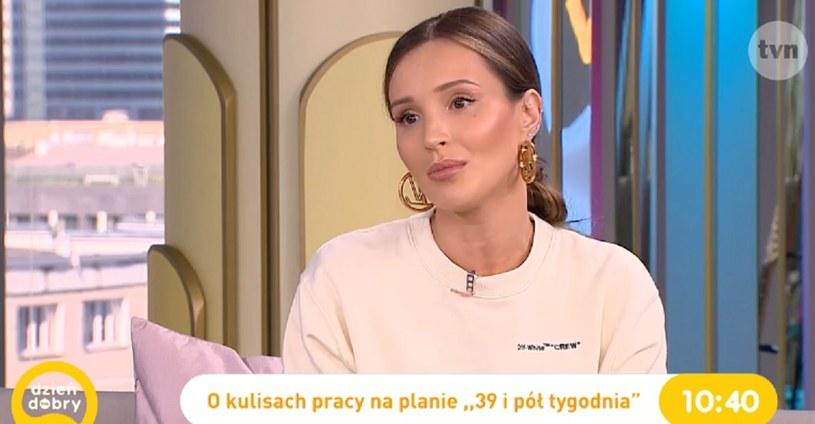 Marina Łuczenko-Szczęsna w DDTVN /TVN /materiał zewnętrzny