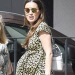 Marina naprawdę długo ukrywała ciążę! Jej brzuch jest już ogromny!