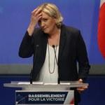 Marine Le Pen grozi pozwem w sporze o nową nazwę jej partii