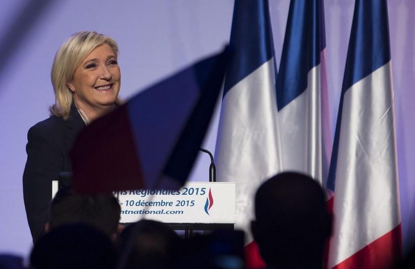 Marine Le Pen, liderka Frontu Narodowego /PAP/EPA
