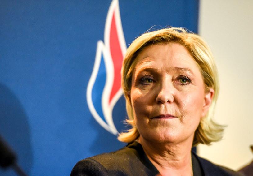 Marine Le Pen ponownie wybrana na szefową Frontu Narodowego /PHILIPPE HUGUEN /AFP