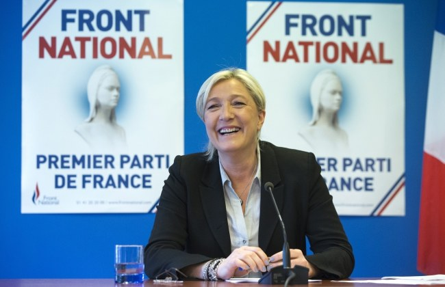 Marine Le Pen /PAP/EPA/STR /PAP/EPA
