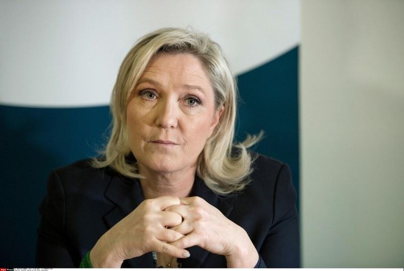 Marine Le Pen /CHAMUSSY/SIPA /East News