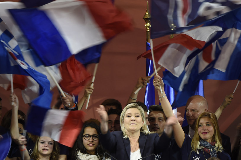 Marine Le Pen /DOMINIQUE FAGET /AFP