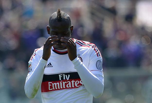 Mario Balotelli, gwiazda Milanu /AFP