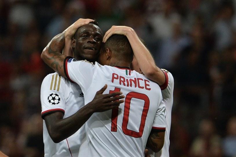 Mario Balotelli i Kevin-Prince Boateng /AFP