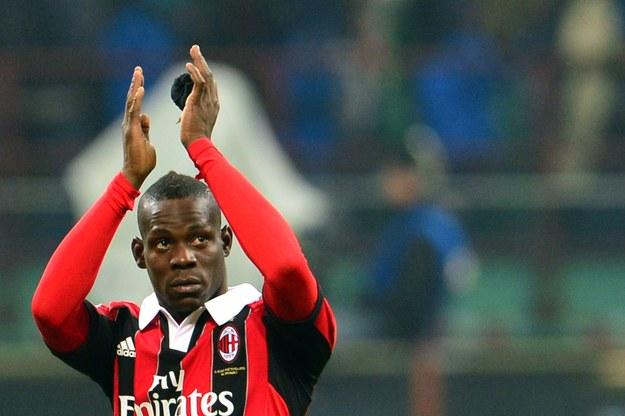 Mario Balotelli po meczu Interu z Milanem /AFP