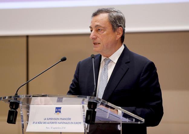 Mario Draghi /fot. Francois Guillot /AFP