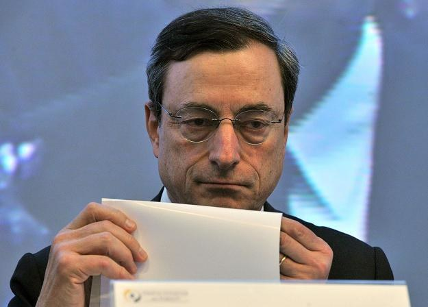 Mario Draghi, nowy prezes EBC /AFP