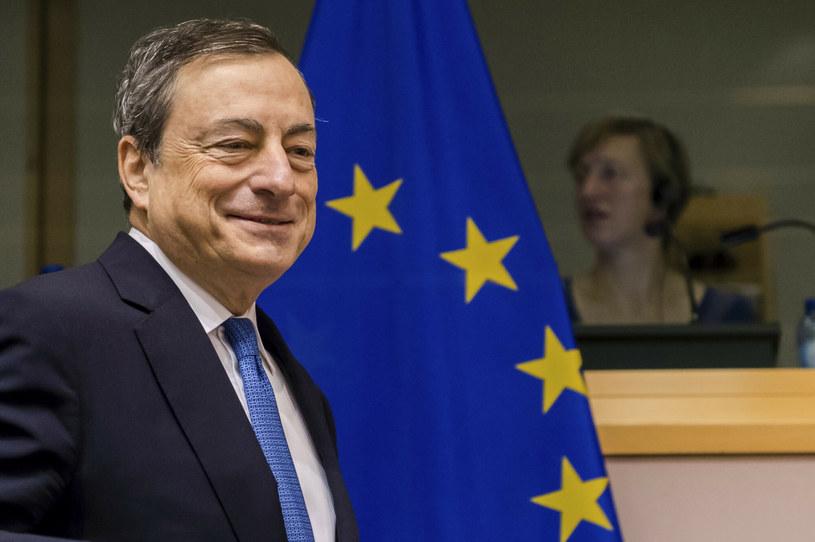 Mario Draghi, premier Włoch /AP /East News