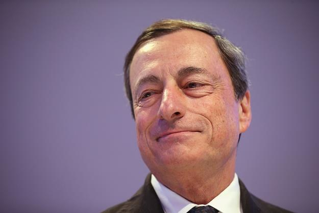 Mario Draghi, prezes EBC. Fot. Sean Gallup /Getty Images/Flash Press Media