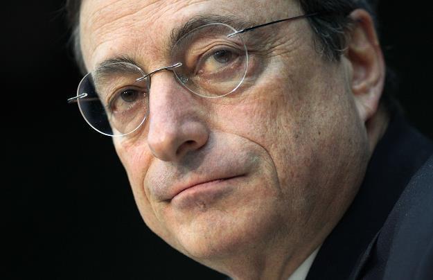Mario Draghi, prezes EBC /AFP