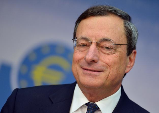 Mario Draghi, prezes Europejskiego Banku Centralnego /EPA