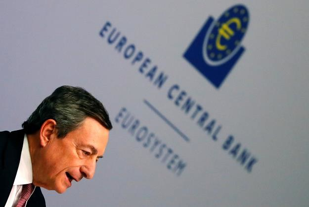 Mario Draghi, szef EBC. Fot. KAI PFAFFENBACH /FORUM