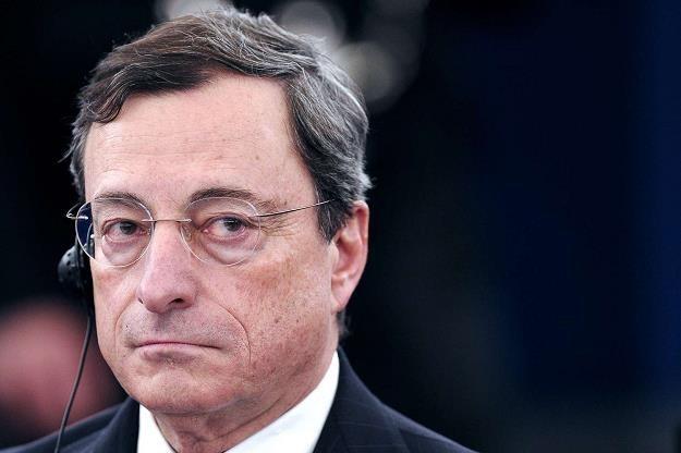 Mario Draghi, szef EBC /AFP