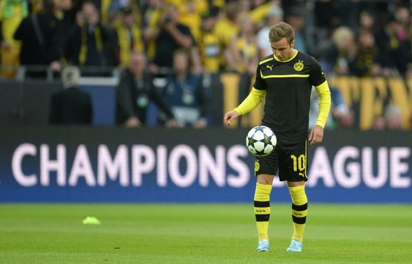 Mario Goetze, gwiazda Borussii Dortmund /AFP