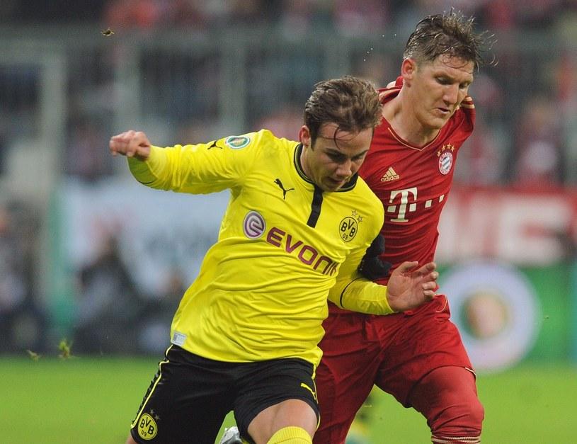 Mario Goetze jeszcze w koszulce Borussii Dortmund /AFP