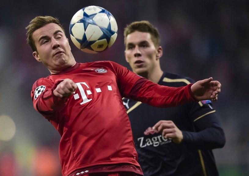Mario Goetze odejdzie z Bayernu? /AFP