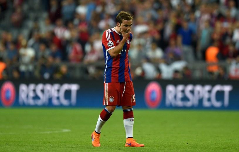 Mario Goetze przeżywa ciężkie chwile w Bayernie /AFP