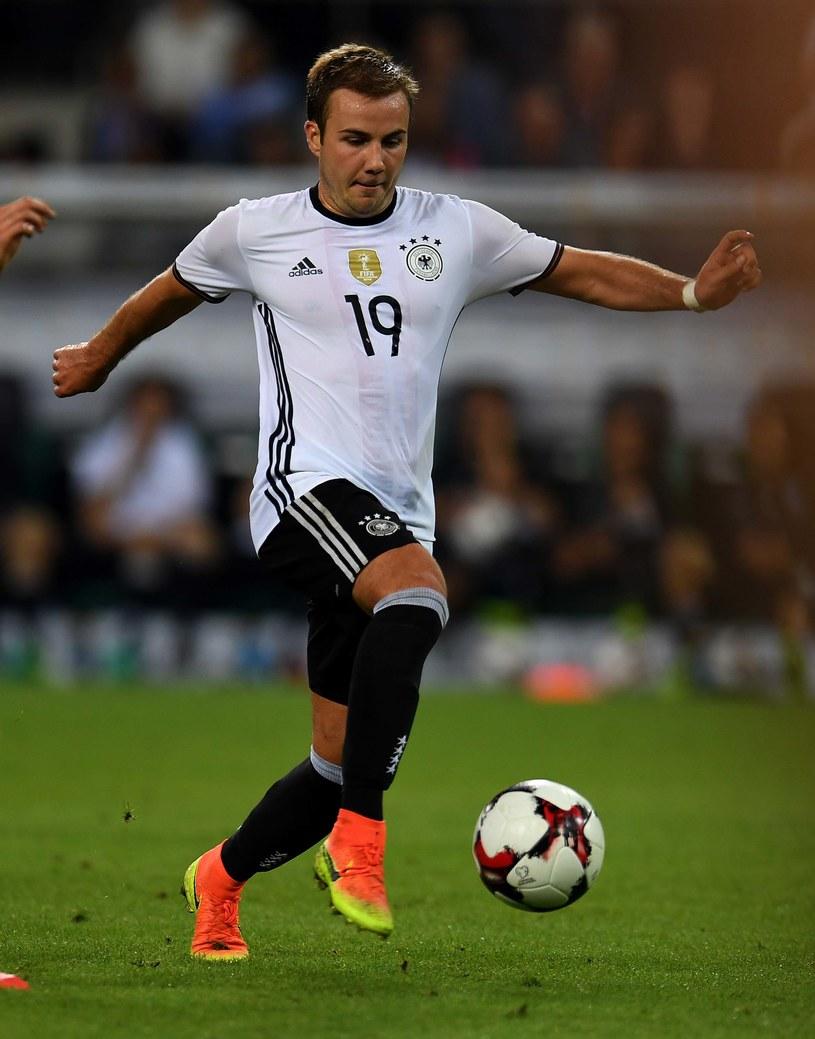 Mario Goetze w barwach reprezentacji Niemiec /AFP