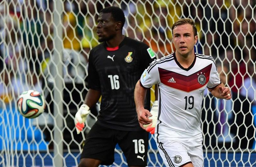 Mario Goetze zdobył bramkę, a Niemcy zremisowali z Ghaną 2-2 /AFP