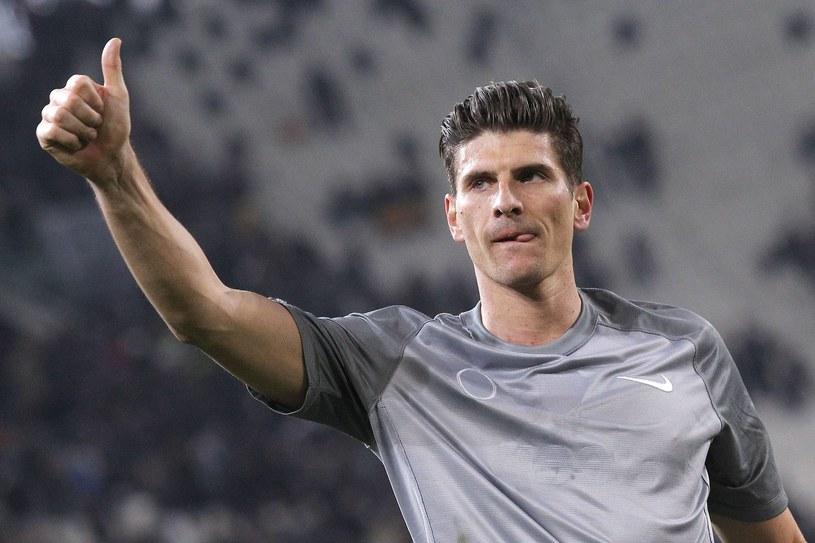 Mario Gomez chciałby wrócić do reprezentacji Niemiec /AFP